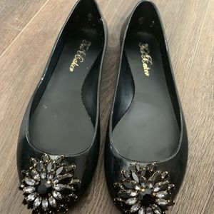 Super cute ted baker jelly flats